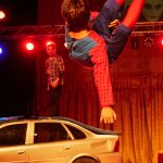 Parkour: Superheld im Sprung. Foto: Philipp Maier