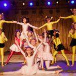 Akrobatisch: Cheerleading-Choreographie. Foto: Philipp Maier